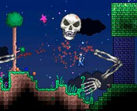 Terraria games online - play free on Game-Game